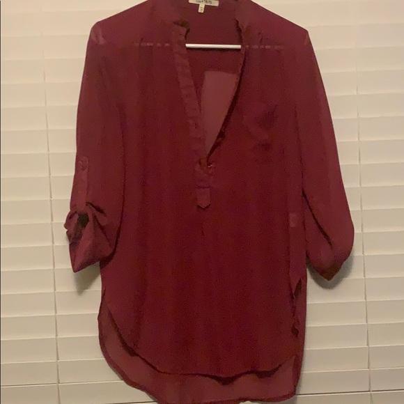 Tops - Burgundy tunic